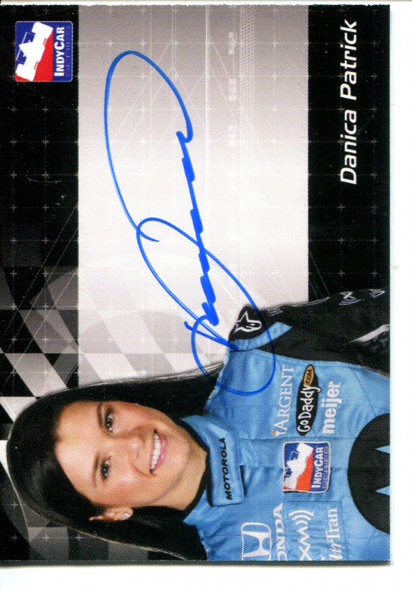 2007 Rittenhouse IRL Autographs #12 Danica Patrick