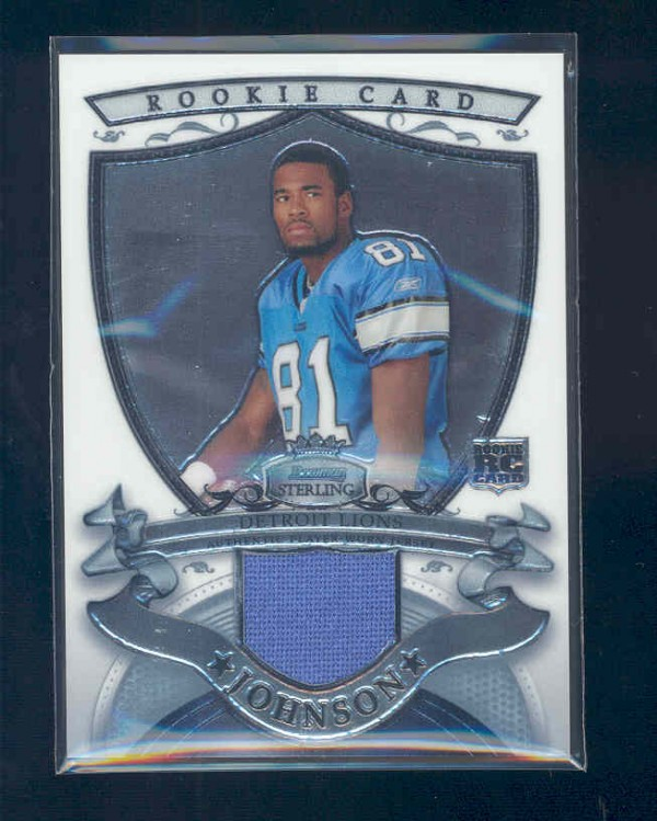 2007 Bowman Sterling #CJO1 Calvin Johnson JSY RC