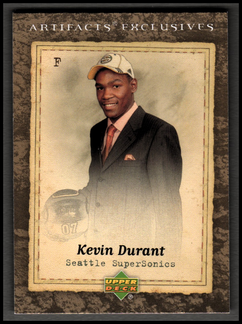2007-08 Artifacts #215 Kevin Durant Suit EX