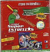 2002 Donruss Super Estrellas Baseball Hobby Box