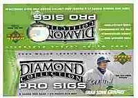 2004 UD Diamond Pro Sigs Baseball Hobby Box