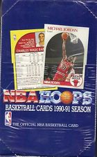 1990-91 Hoops Basketball Hobby Box Series 1