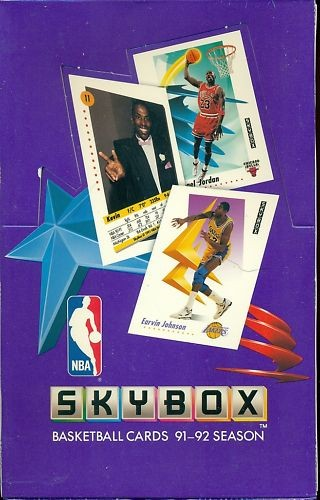 1991-92 SkyBox Basketball Hobby Box Series 1