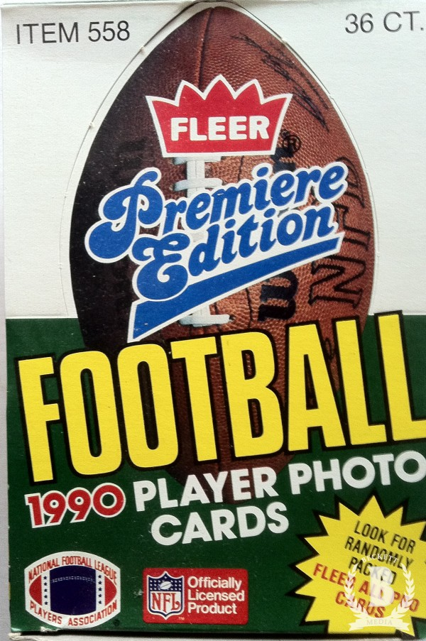 1990 Fleer Football Hobby Box