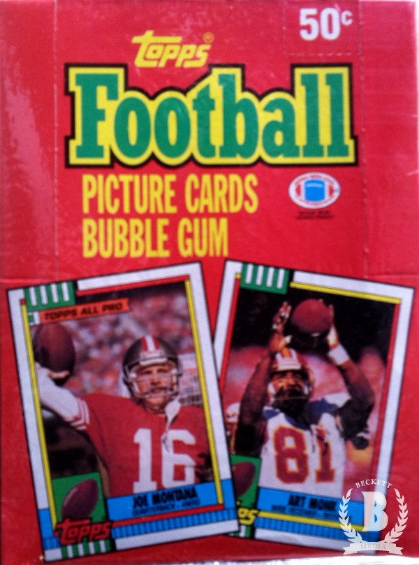 1990 Topps Football Hobby Box
