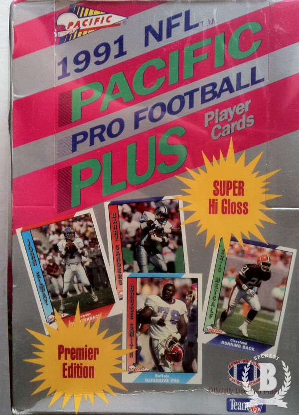 1991 Pacific Football Hobby Box Series 1