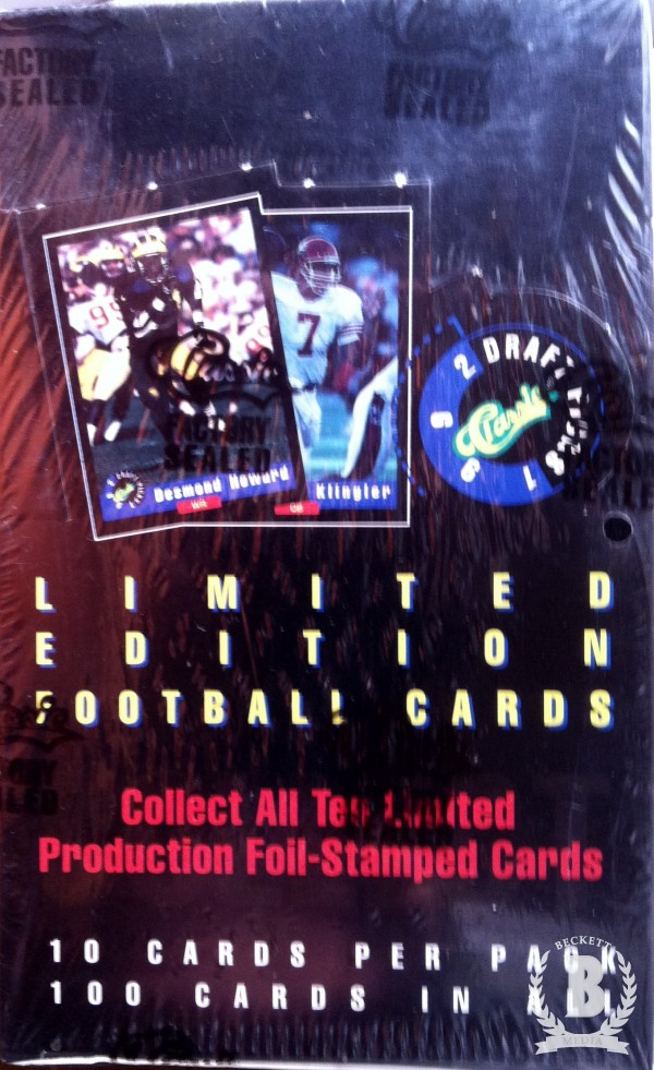 1992 Classic Football Hobby Box