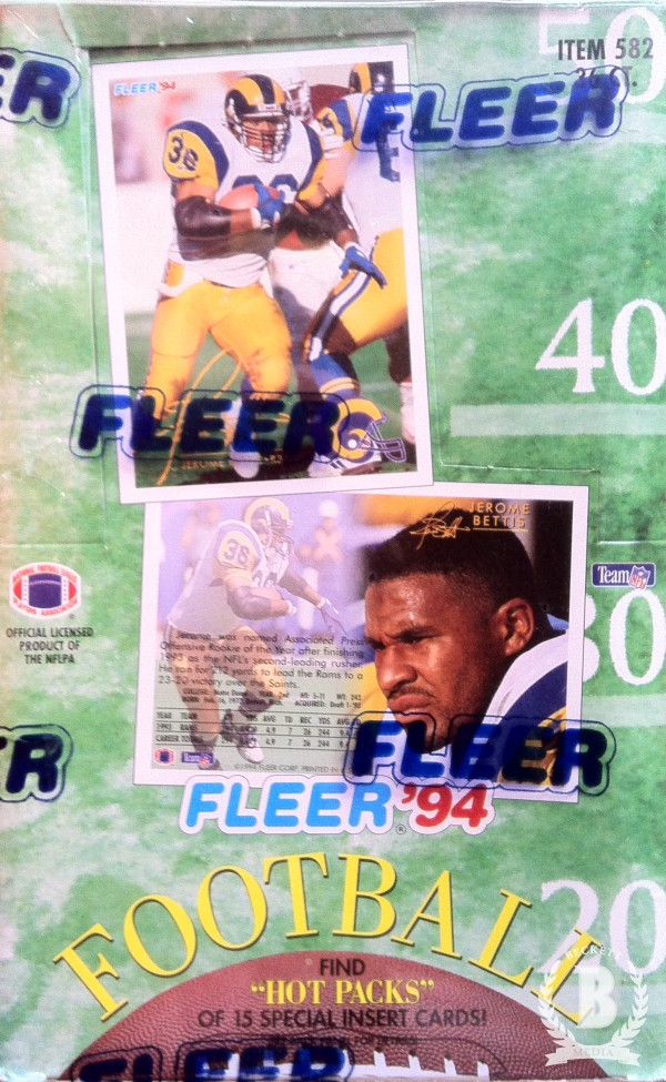 1994 Fleer Football Hobby Box