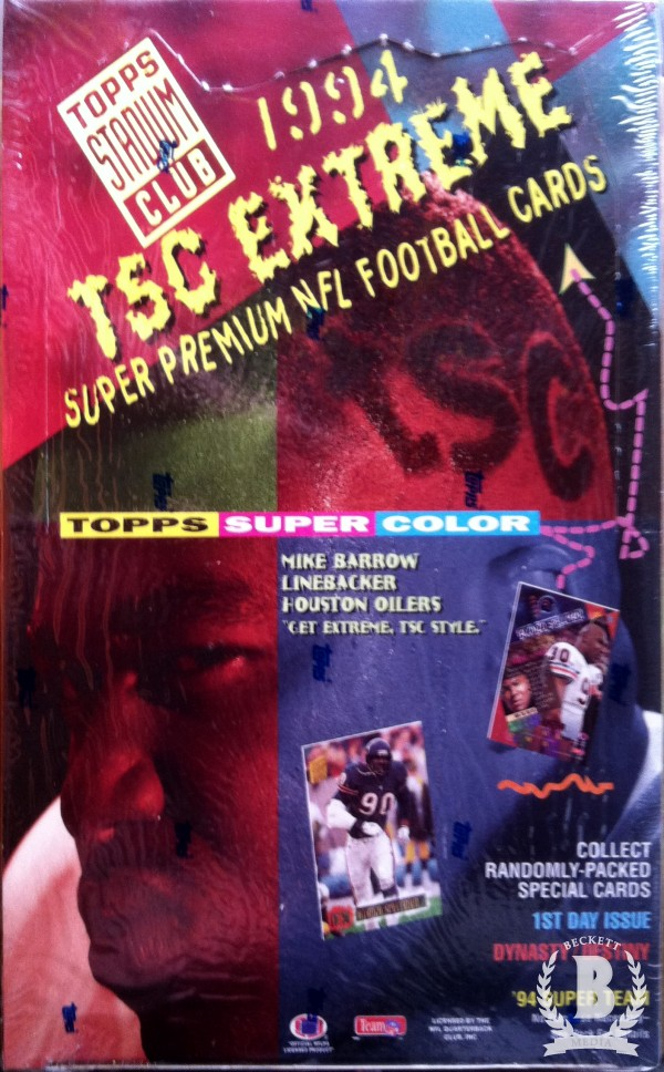 1994 Stadium Club Football Hobby Box Series 1