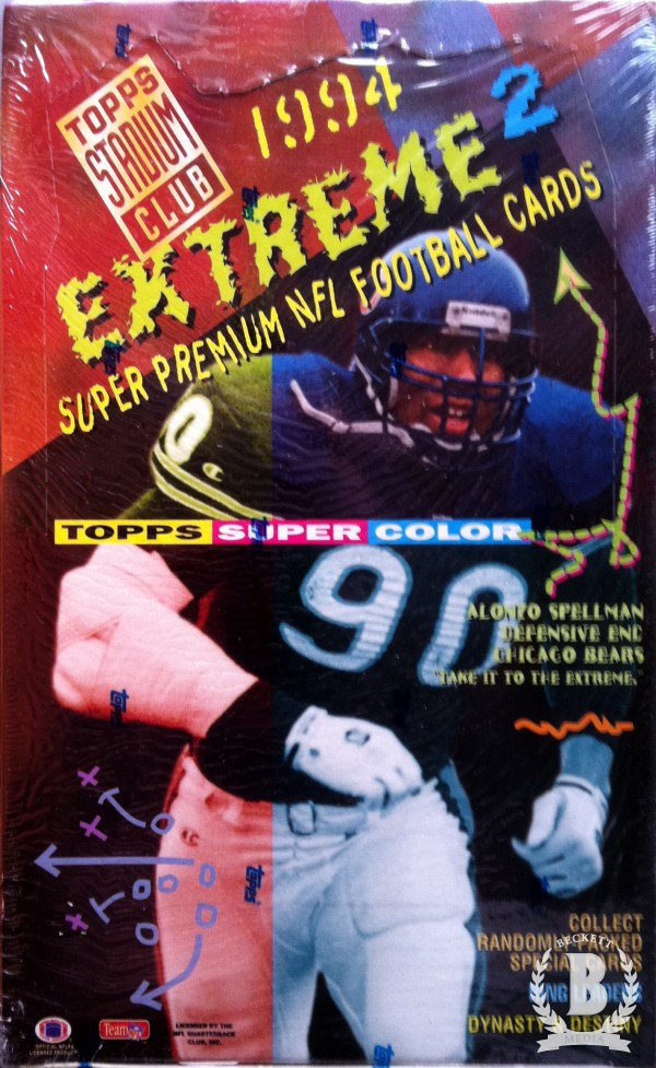 1994 Stadium Club Football Hobby Box Series 2