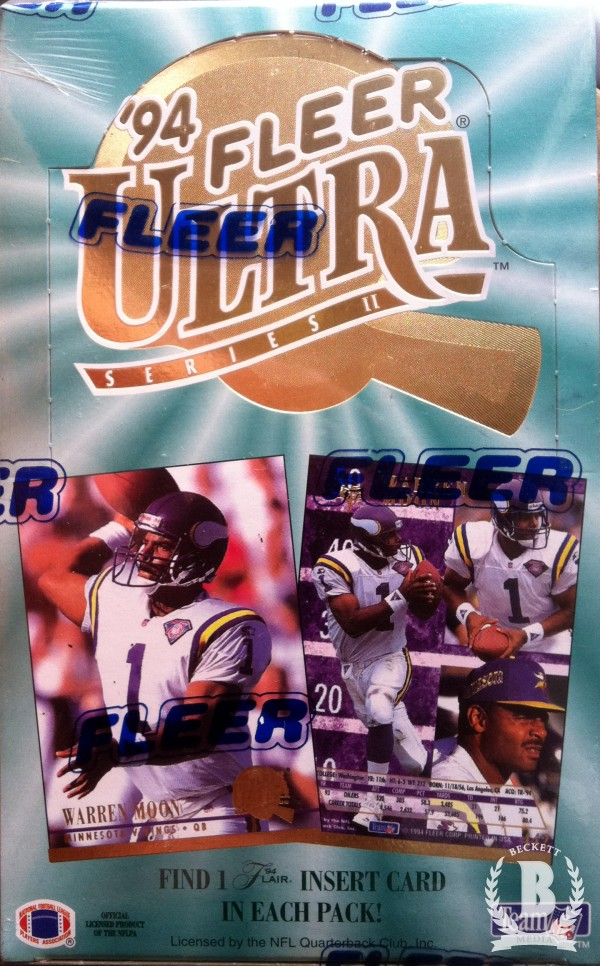 1994 Ultra Football Hobby Box Series 2