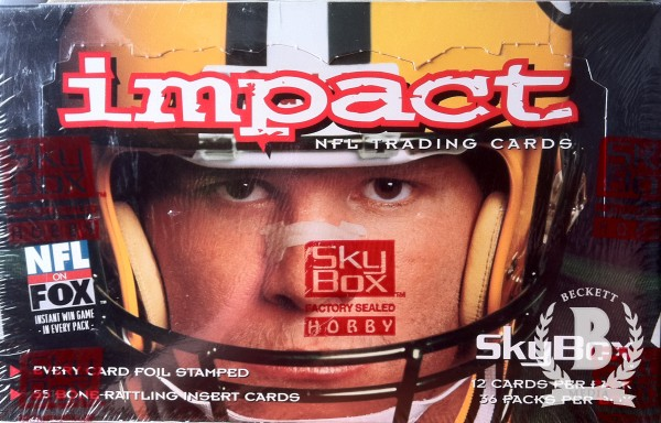 1995 SkyBox Impact Football Hobby Box