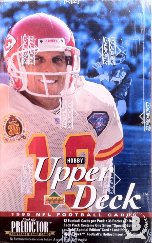 1995 Upper Deck Football Hobby Box