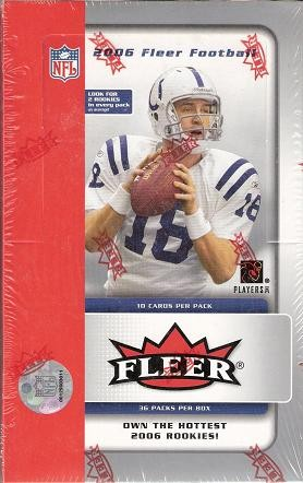 2006 Fleer Football Retail Box