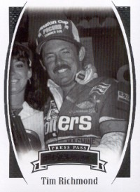 2007 Press Pass Legends #31 Tim Richmond front image