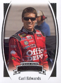 2007 Press Pass Legends #48 Carl Edwards