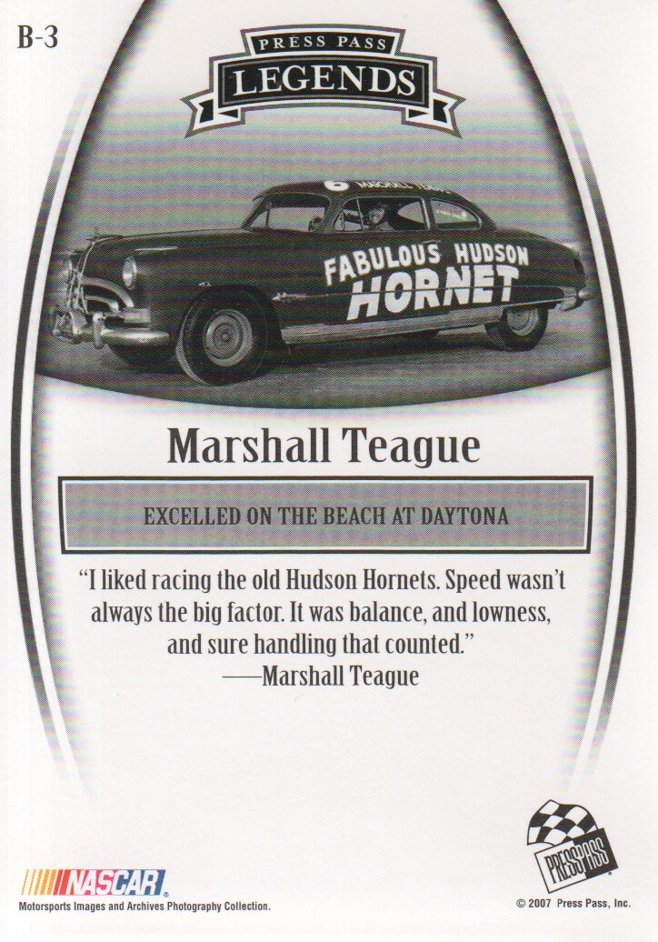 2007-Press-Pass-Legends-Parallels-NASCAR-Racing-Cards-Pick-From-List thumbnail 5