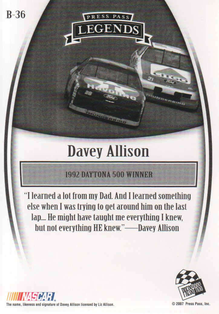 2007-Press-Pass-Legends-Parallels-NASCAR-Racing-Cards-Pick-From-List thumbnail 19