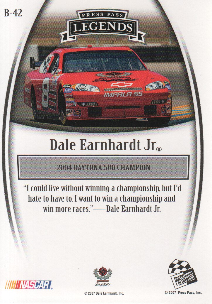 2007-Press-Pass-Legends-Parallels-NASCAR-Racing-Cards-Pick-From-List thumbnail 23