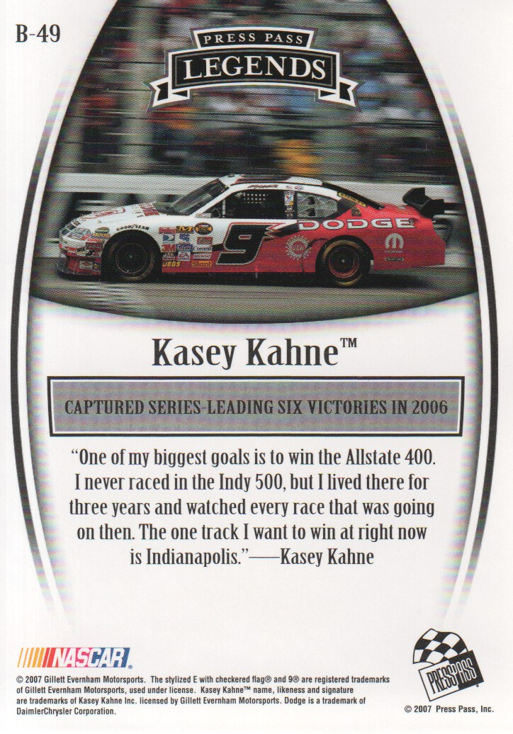 2007-Press-Pass-Legends-Parallels-NASCAR-Racing-Cards-Pick-From-List thumbnail 29