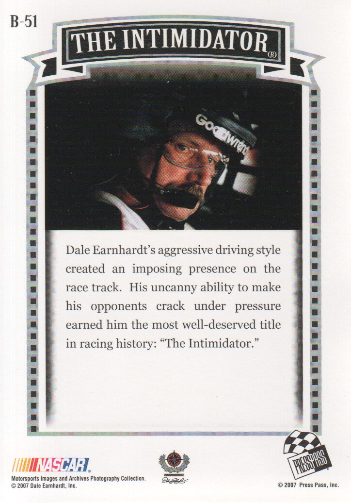 2007-Press-Pass-Legends-Parallels-NASCAR-Racing-Cards-Pick-From-List thumbnail 31