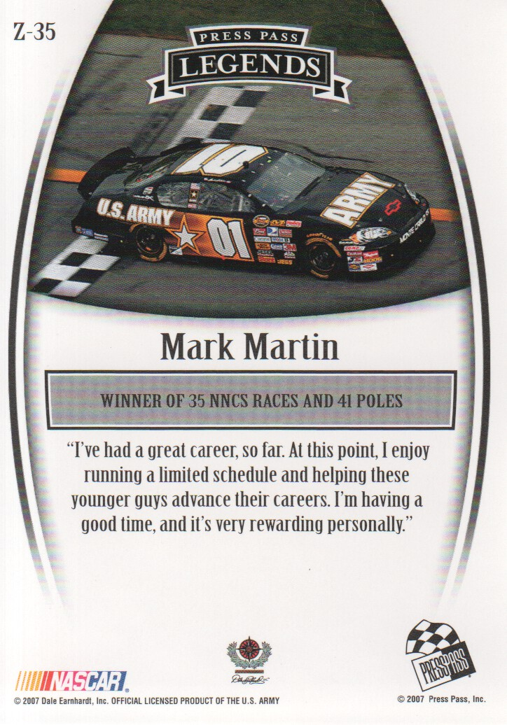 2007-Press-Pass-Legends-Parallels-NASCAR-Racing-Cards-Pick-From-List thumbnail 53