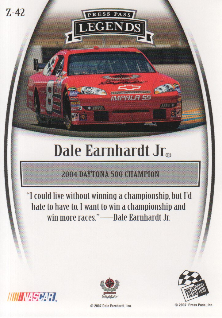 2007-Press-Pass-Legends-Parallels-NASCAR-Racing-Cards-Pick-From-List thumbnail 57