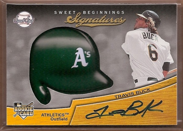 2007 Sweet Spot #139 Travis Buck AU (RC)