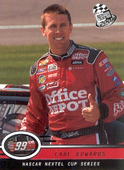 2008 Press Pass #5 Carl Edwards