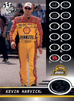 2008 Press Pass #117 Kevin Harvick Top 12