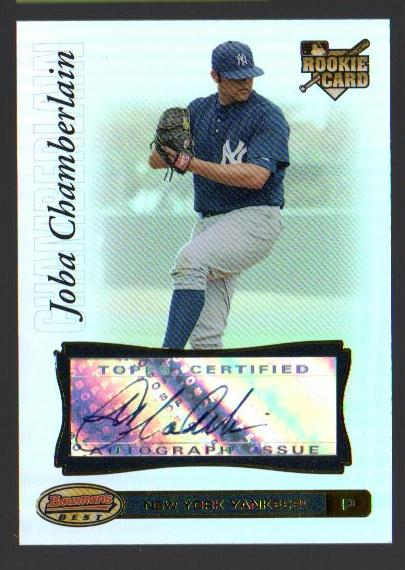 2007 Bowman's Best #88 Joba Chamberlain AU RC