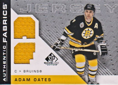 2007-08 SP Game Used Authentic Fabrics #AFAO Adam Oates