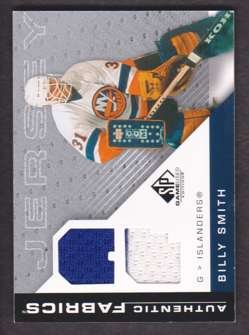2007-08 SP Game Used Authentic Fabrics #AFBS Billy Smith