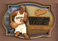 2002-03 Fleer Authentix Courtside Classics Gold #5 Michael Jordan