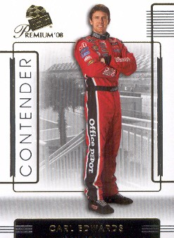 2008 Press Pass Premium #36 Carl Edwards