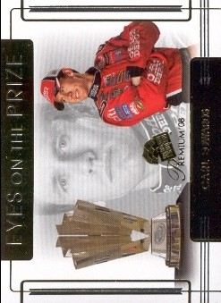 2008 Press Pass Premium #56 Carl Edwards EOP