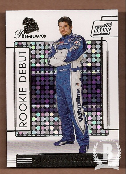 2008 Press Pass Premium #87 Patrick Carpentier RD RC