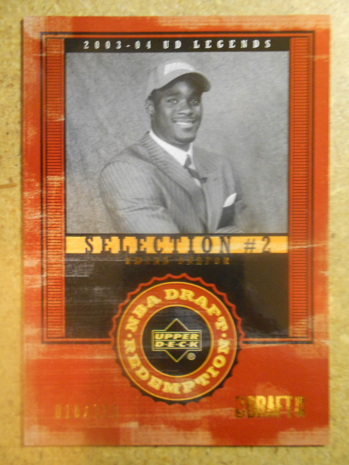 2003-04 Upper Deck Legends Throwback #137 Emeka Okafor