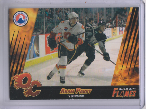 2007-08 Quad City Flames #11 Adam Pardy