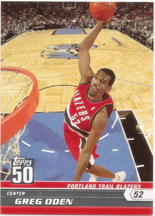 2007-08 Topps 50th Anniversary #3 Greg Oden