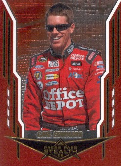2008 Press Pass Stealth Chrome #9 Carl Edwards