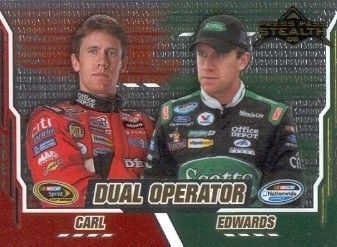 2008 Press Pass Stealth Chrome #76 Carl Edwards DO