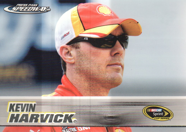 2008 Press Pass Speedway #6 Kevin Harvick