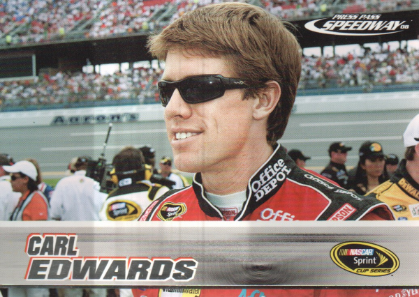 2008 Press Pass Speedway #22 Carl Edwards