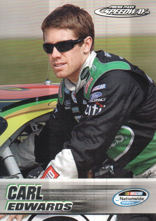 2008 Press Pass Speedway #45 Carl Edwards NNS