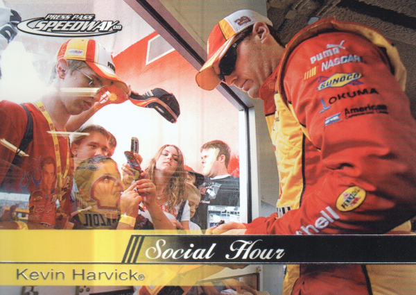 2008 Press Pass Speedway #59 Kevin Harvick SH