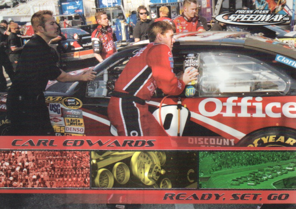 2008 Press Pass Speedway #79 Carl Edwards's Car RSG