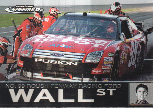 2008 Press Pass Speedway #90 Carl Edwards' Car WS