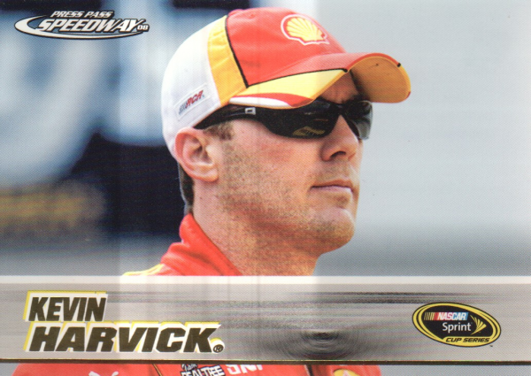 2008 Press Pass Speedway Gold #G6 Kevin Harvick