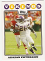 2008 Topps #65 Adrian Peterson